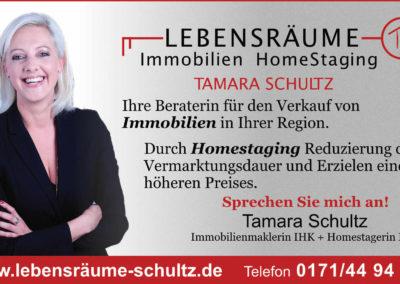Tamara Schultz Anzeige Lesezirkel 95x55
