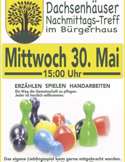 20180530 Nachmittagstreff Dachsenhausen