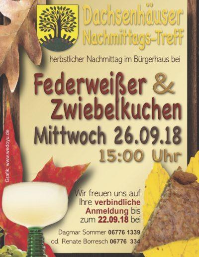 20180926 Zwiebelkuchen Nachmittagstreff-Plakat144dpi