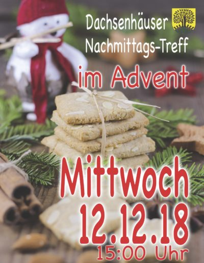 20181212 Nachmittagstreff Advent