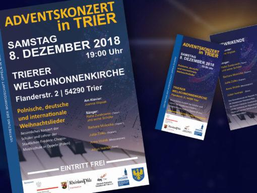 Vertretung der Woiwodschaft Oppeln in Mainz – Plakate & Flyer