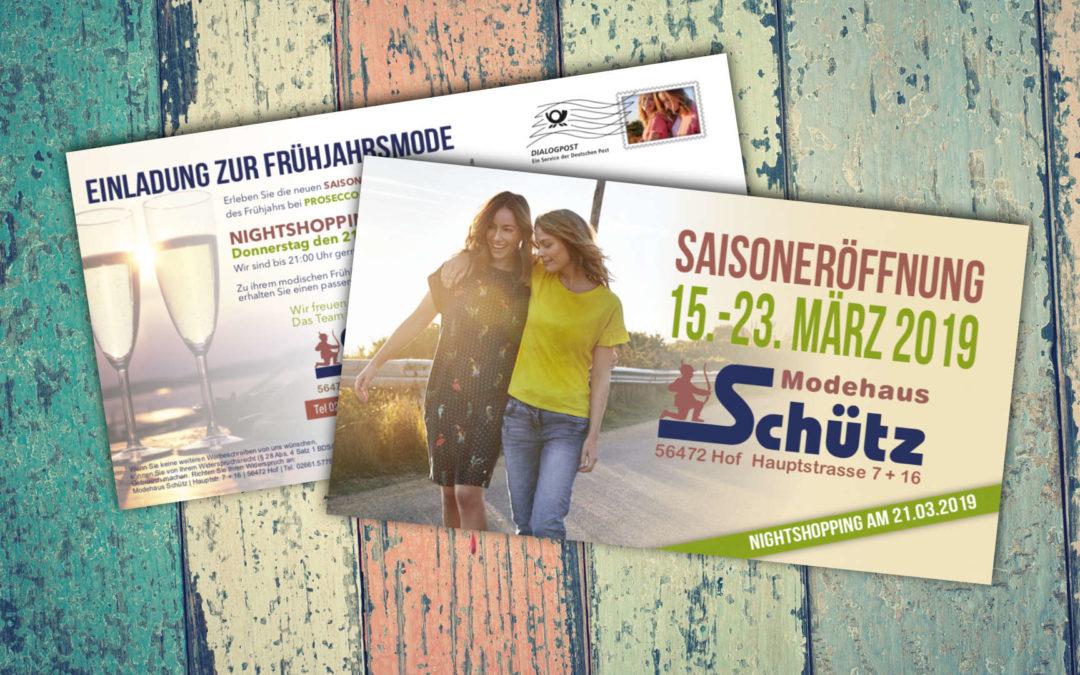 FS Mailing 2019 Modehaus Schütz Hof