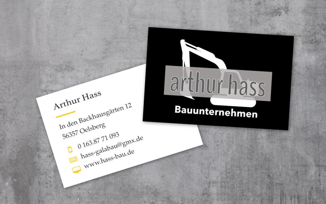 Arthur Hass – Bauunternehmung