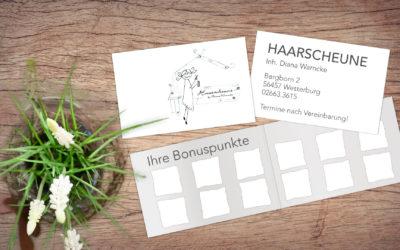 Haarscheune Westerburg – Bonuskarte