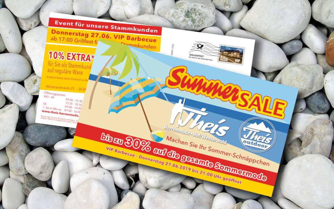 Theis Maxikarte Summersale 2019