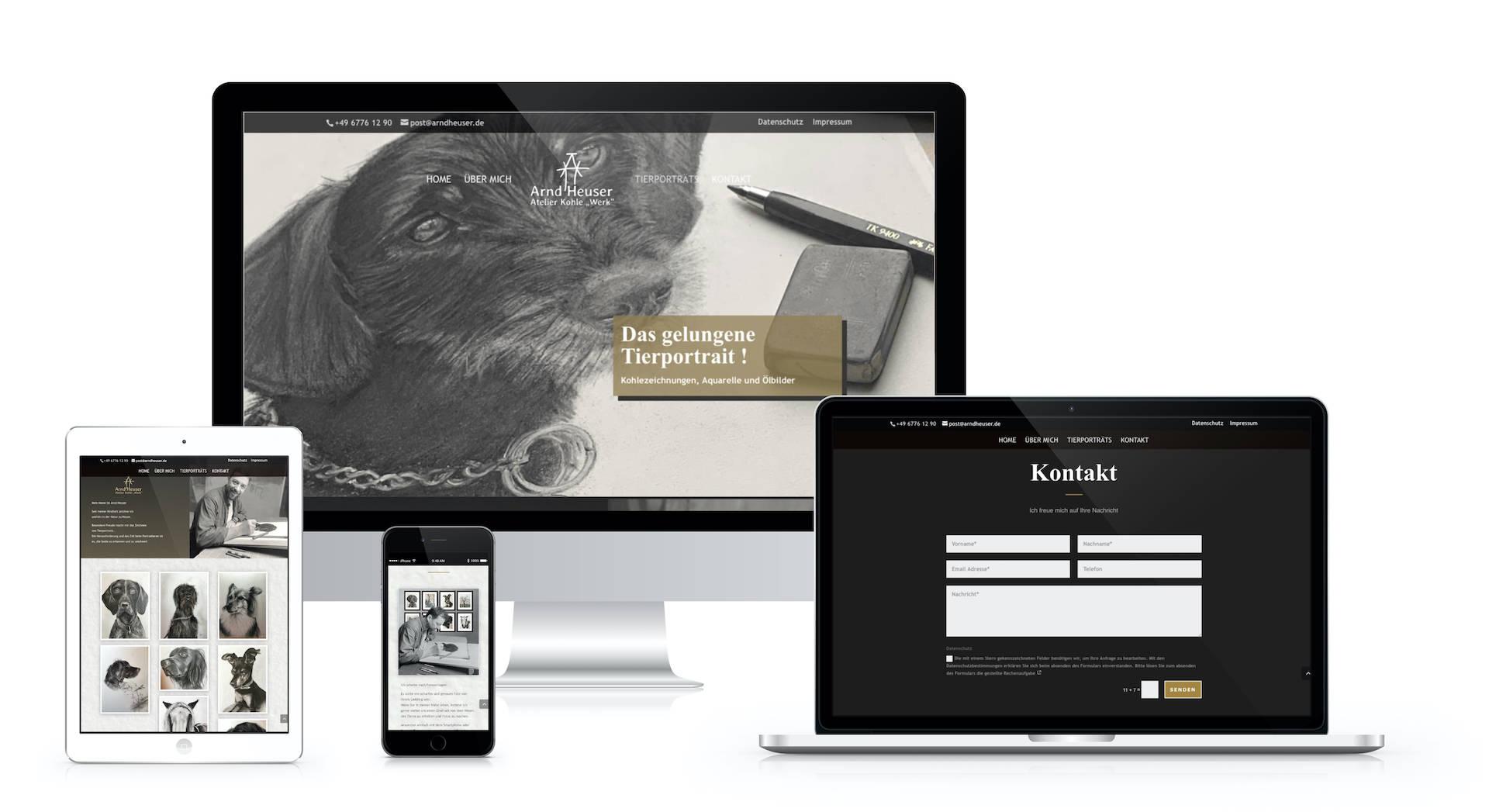 Webdesign Arnd Heuser