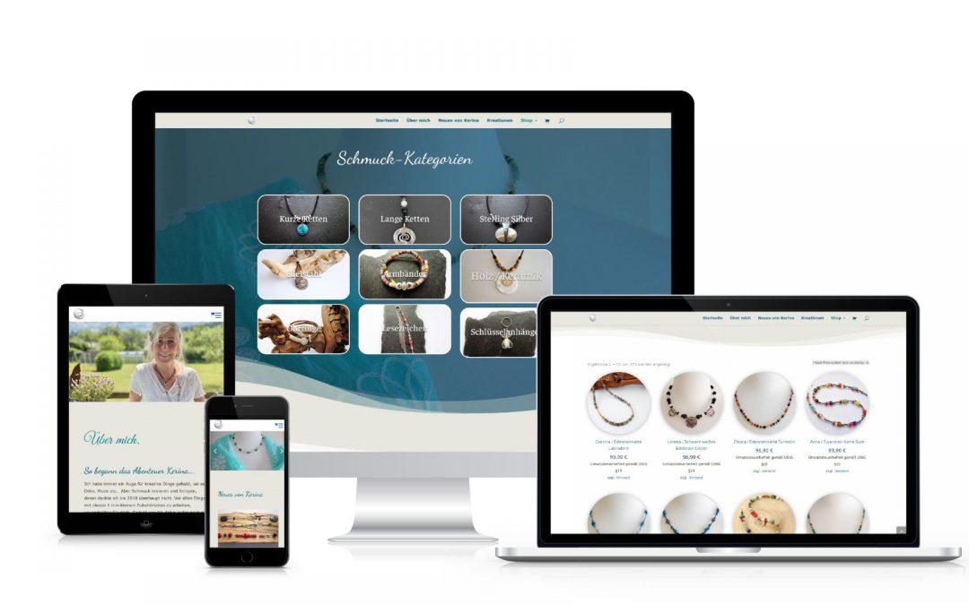 Kerina Schmuck | webdesign
