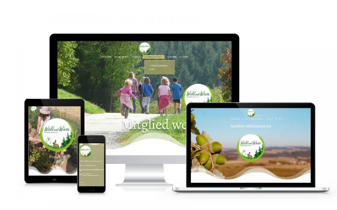 WaldundWiese Dachsenhausen e.V.   webdesign